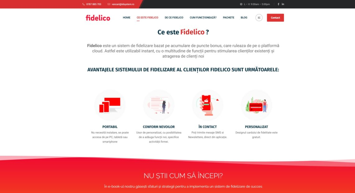Platforma software de fidelizare clienti